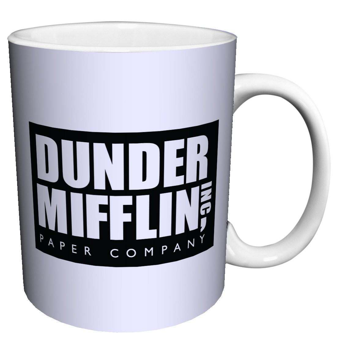 Dunder Mifflin (The Office) World's Best Boss TV Television Show Ceramic Gift Coffee (Tea, Cocoa) 11 OZ Mug, By CulturenikOfficially Licensed from NBC/Universal TV. by Culturenik