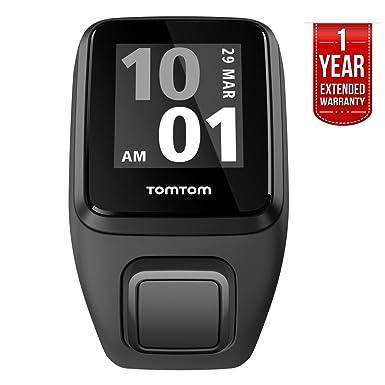 TomTom Spark 3 Cardio, pulsómetro reloj Fitness + GPS (1rk0.002.00) negro