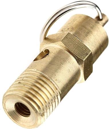 Vanne de s/écurit/é pour compresseur 1//4 10 bar 145 PSI