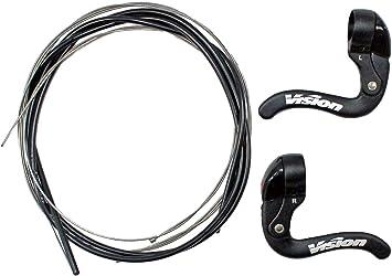 FSA vision carbon pro tech clip on aerobar triathlon prolongateur de ...