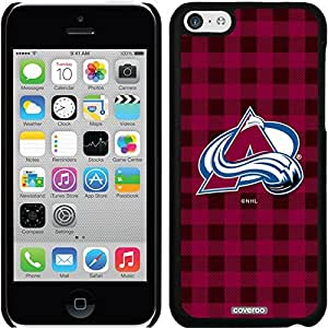 fashion case iphone 4s Black Thinshield Snap-On Case with Colorado Avalanche Plaid Design