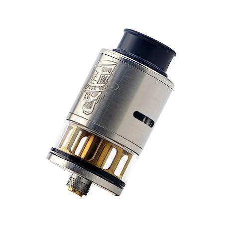 H&W 3.5ml Rebuildable Mad Hatter 24mm RDTA Vapeador Tanque 810 Drip Tip E-Cig