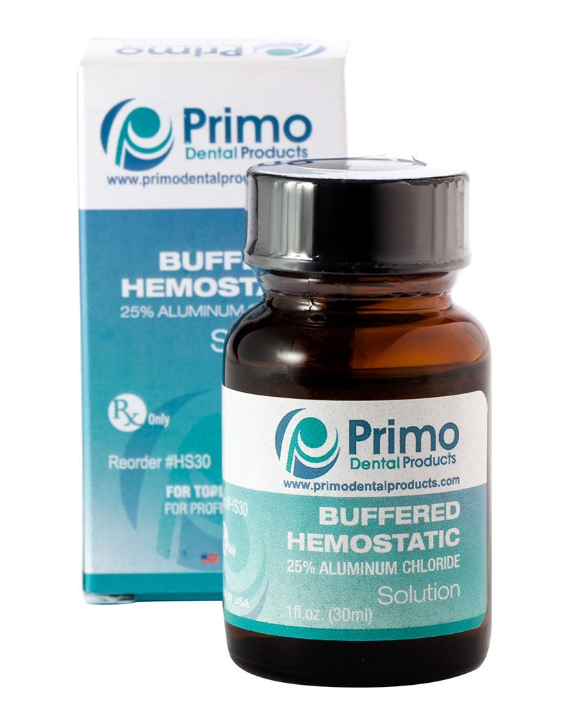 Primo Dental Products HS30 25% Aluminum Chloride Hemostatic Solution, 30 cc by Primo Dental Products