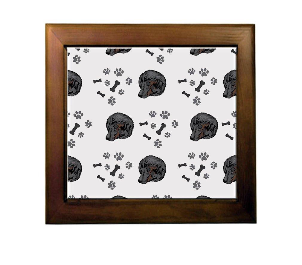 Bakharwal Dog Dog Breed Ceramic Tile Backsplash Accent Mural delicate