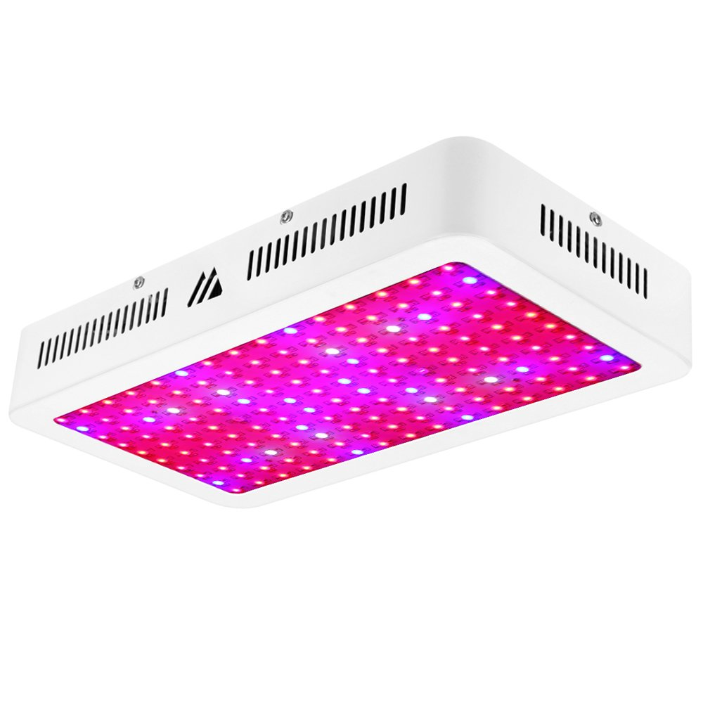 LED Grow Light 1500W, Dimgogo Triple Chips Full Spectrum Grow Lamp with UV&IR for Greenhouse Hydroponic Indoor Plants Veg and Flower All Phases of Plant Growth (10W Leds) by Dimgogo