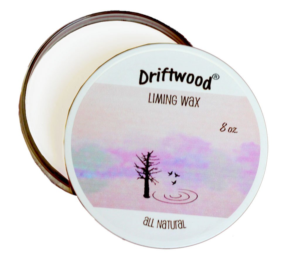 Driftwood Liming Wax - to Lighten or whiten Wood finishes by Driftwood