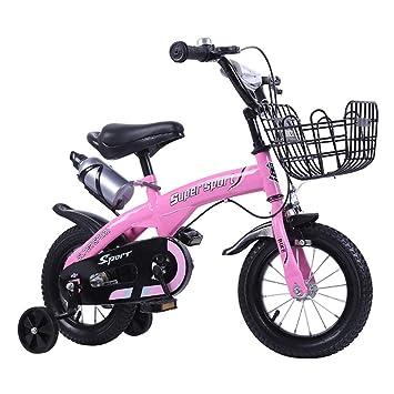 """FJW Muchachos Chicas Bicicleta de niño Libremente Ajustable 12"""", 14"""", 16"""""""