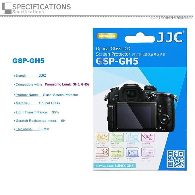 PROfoto.Trend/JJC Protector de Pantalla LCD de Cristal Líquido óptico para Panasonic Lumix GH5: Amazon.es: Electrónica