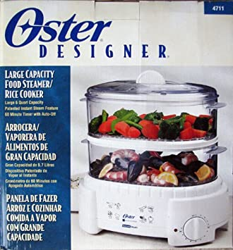 How to cook rice in a oster steamer