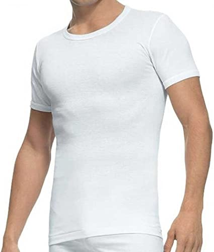 TALLA 56. Abanderado - Abanderado Pack x2 Camisetas Manga Corta Hombre CLÁSICA 100% Algodón