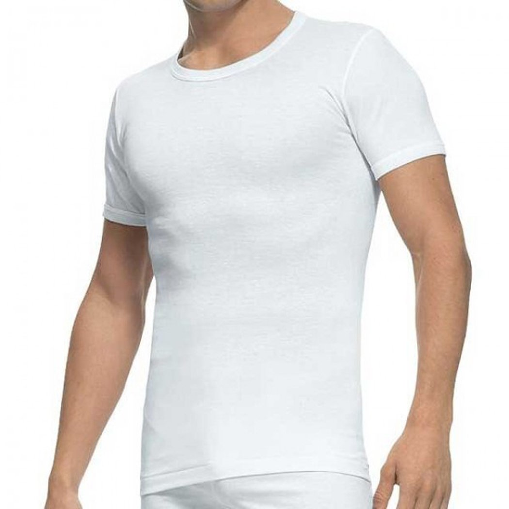487b8b02dbf Abanderado - Men's Crew Neck Undershirts 2-Pack White Vests 100% Cotton  T-Shirts - BLANCO, 56/XL at Amazon Men's Clothing store: