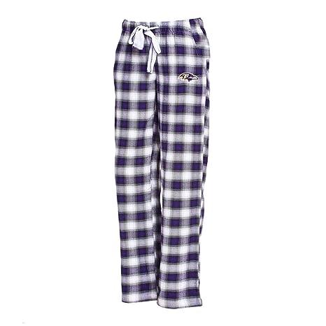 99d6c427 Amazon.com : Concepts Sport Baltimore Ravens Womens Pajamas Flannel ...