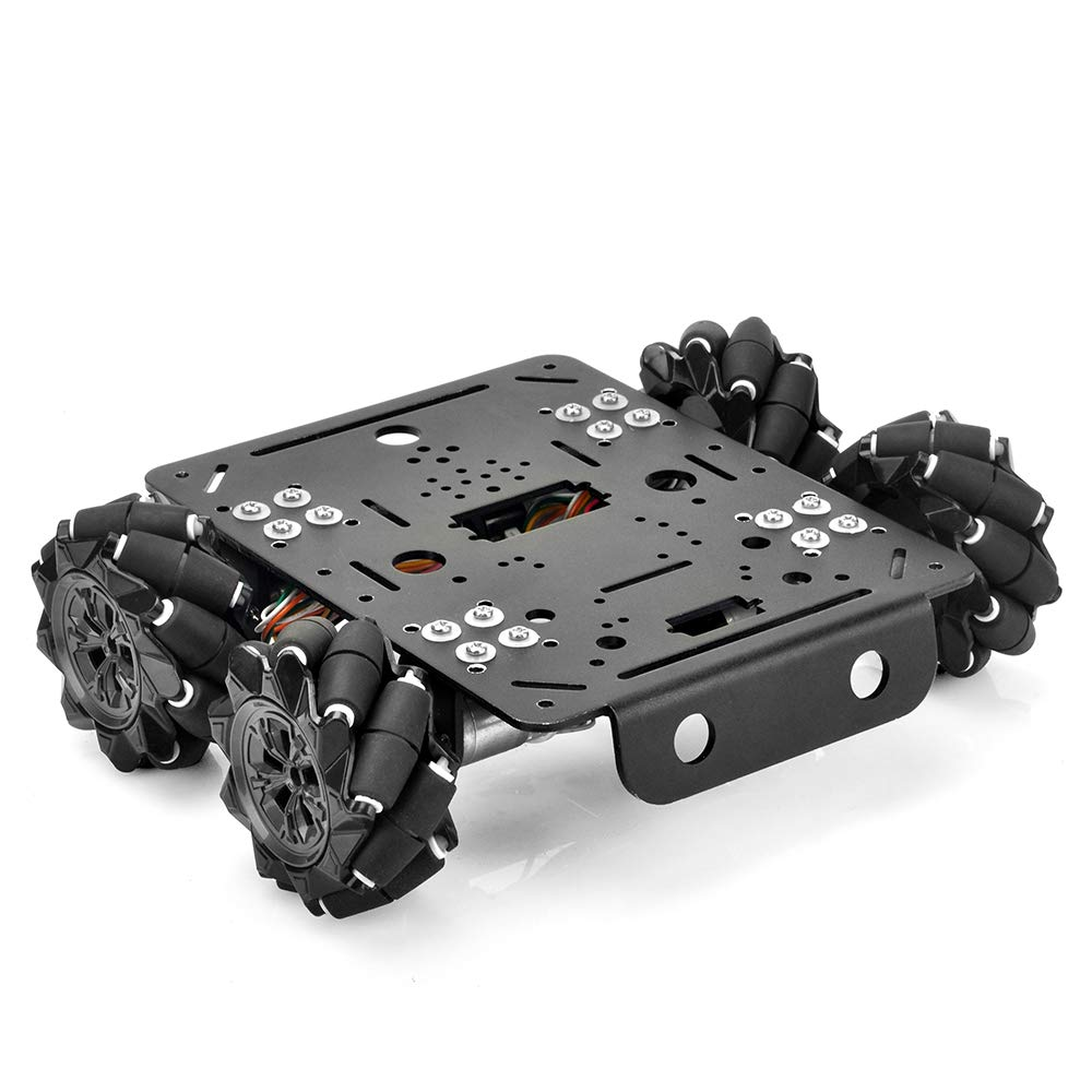 Electronic Control Kit Robot Car Electronics Accessaries Kit for 4WD Omni Mecanum Wheel Robotic Chassis Compatible with Arduino Mega2560