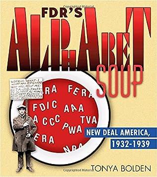 book cover of FDR\'s Alphabet Soup