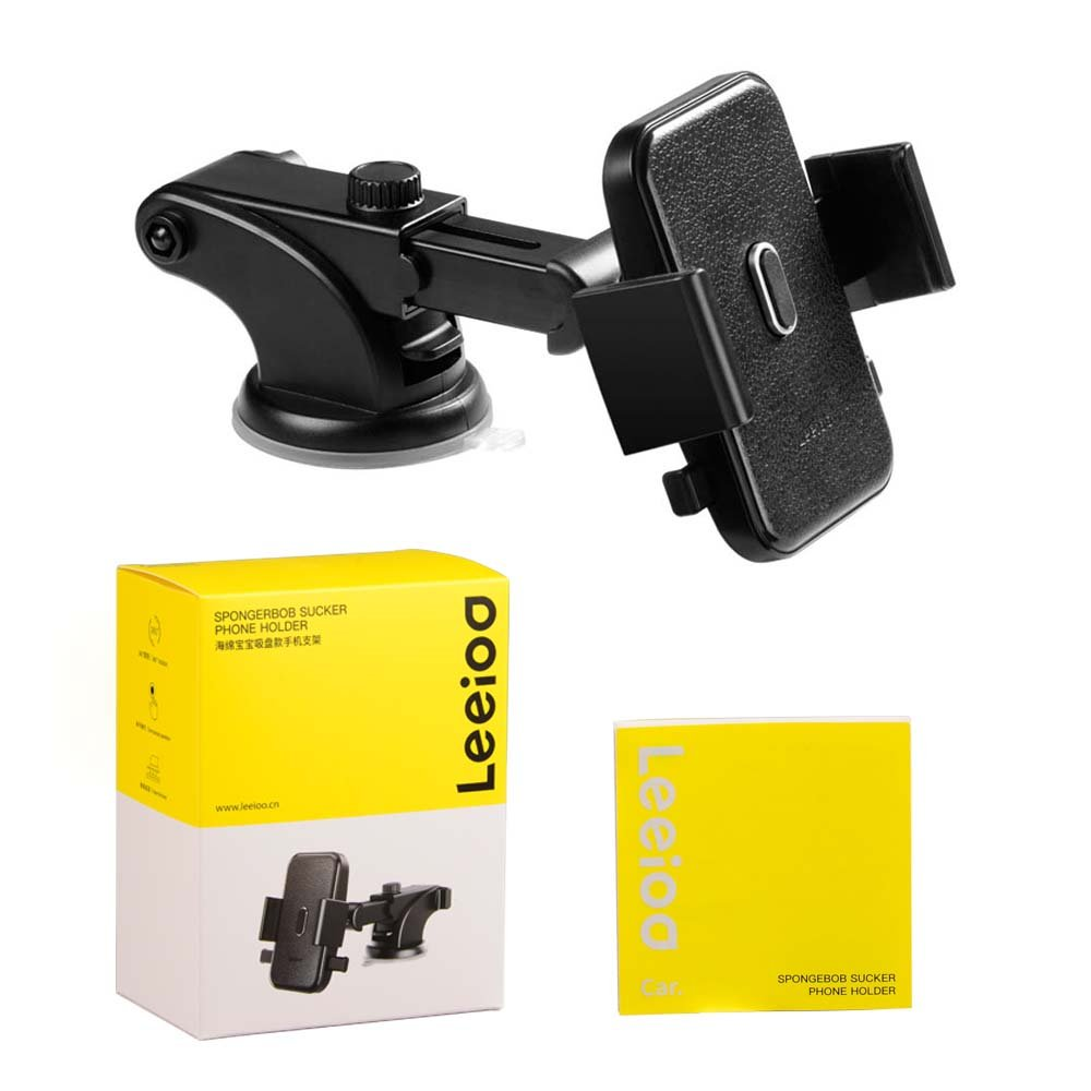 LEEIOO Car Mount Universal Windshield/&Dashboard Phone Holder Fit for iPhone Samsung Galaxy Google Huawei and More Shenzhen Hean Technology Co Ltd 4351520289