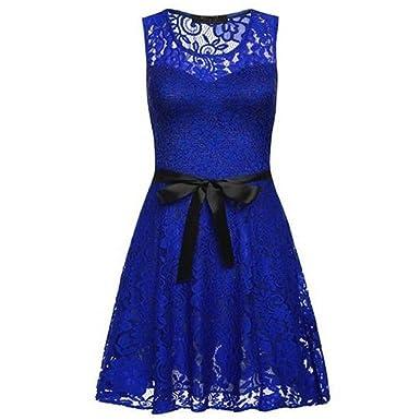 Cocktailkleid blau 32