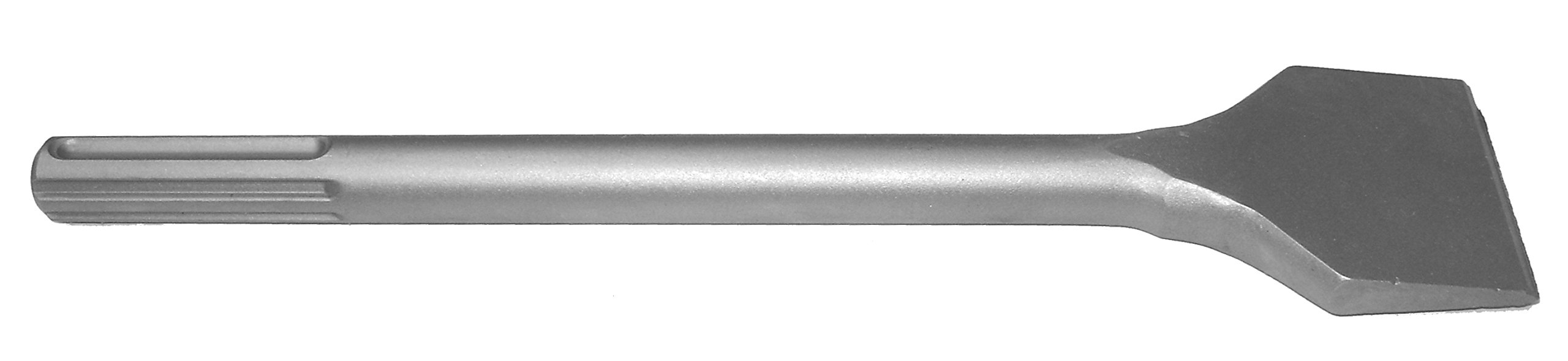Champion Chisel, SDS-MAX Shank 16-Inch Long by 3-Inch Wide Flat Chisel