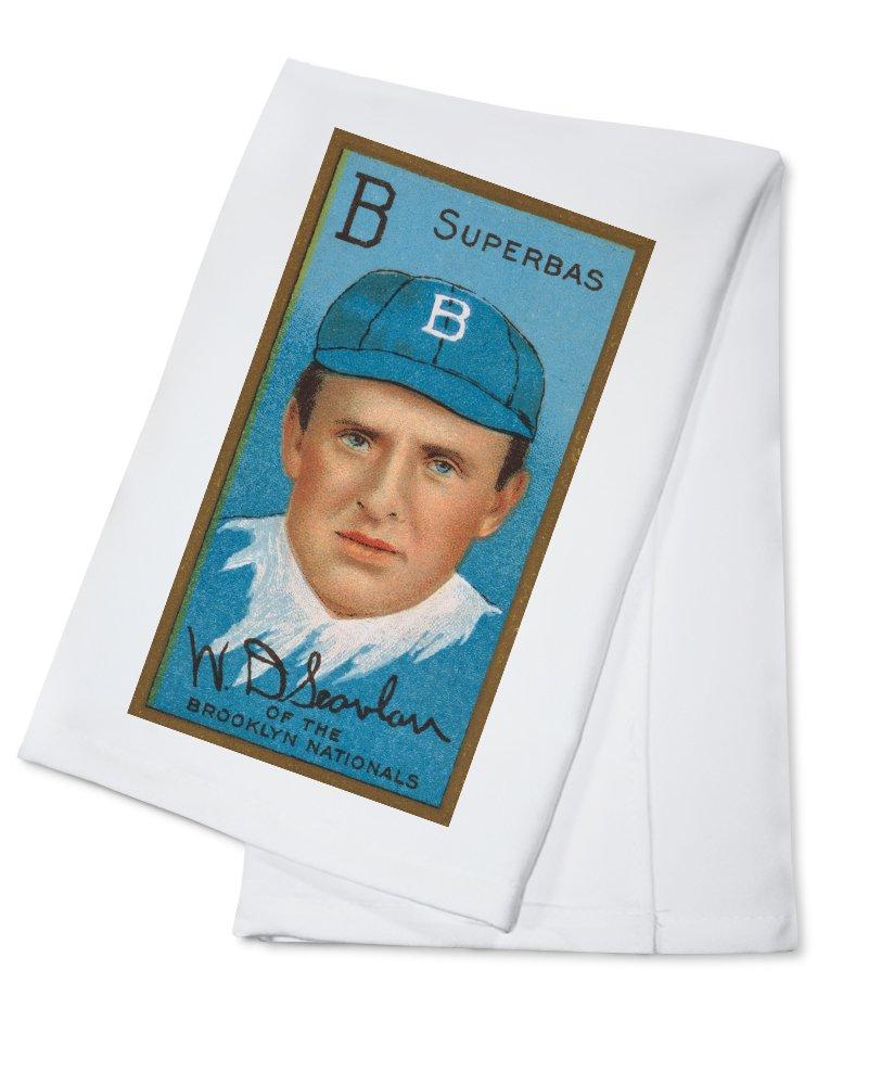 ブルックリンドジャース – W D。Scanlan – 野球カード Cotton Towel LANT-21915-TL Cotton Towel  B0184BR8DS