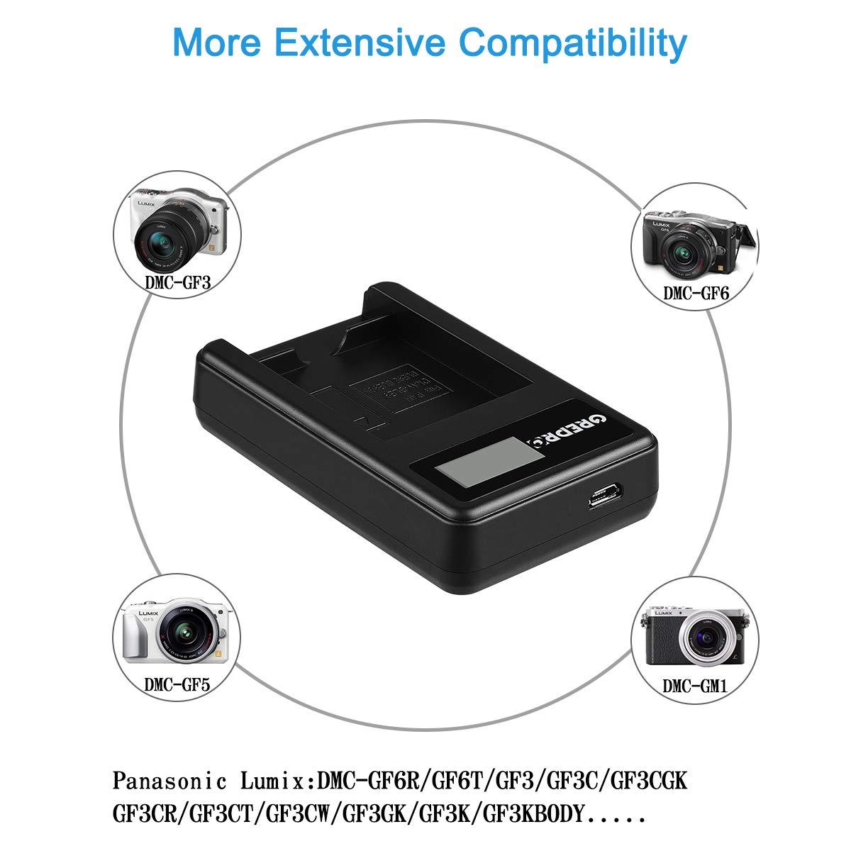 and Rapid LCD USB Charger Kit for Sony NP-BK1 and Cybershot DSC-W180 DSC-S950 DSC-S780 Grepro NP-BK1 Battery DSC-S980 DSC-W370 Bloggie MHS-CM5 DSC-S750 MHS-PM1 MHS-PM5 DSC-W190 2 Packs