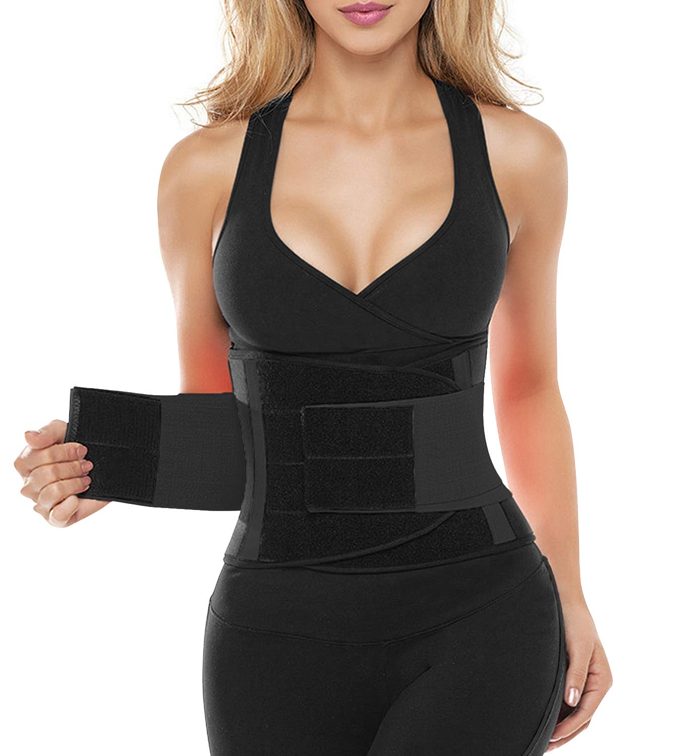 SHAPERX Waist Trainer Belt Body Shaper