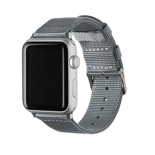 Archer Watch Straps | Bracelets de Remplacement en Nylon pour Apple Watch, Homme et Femme