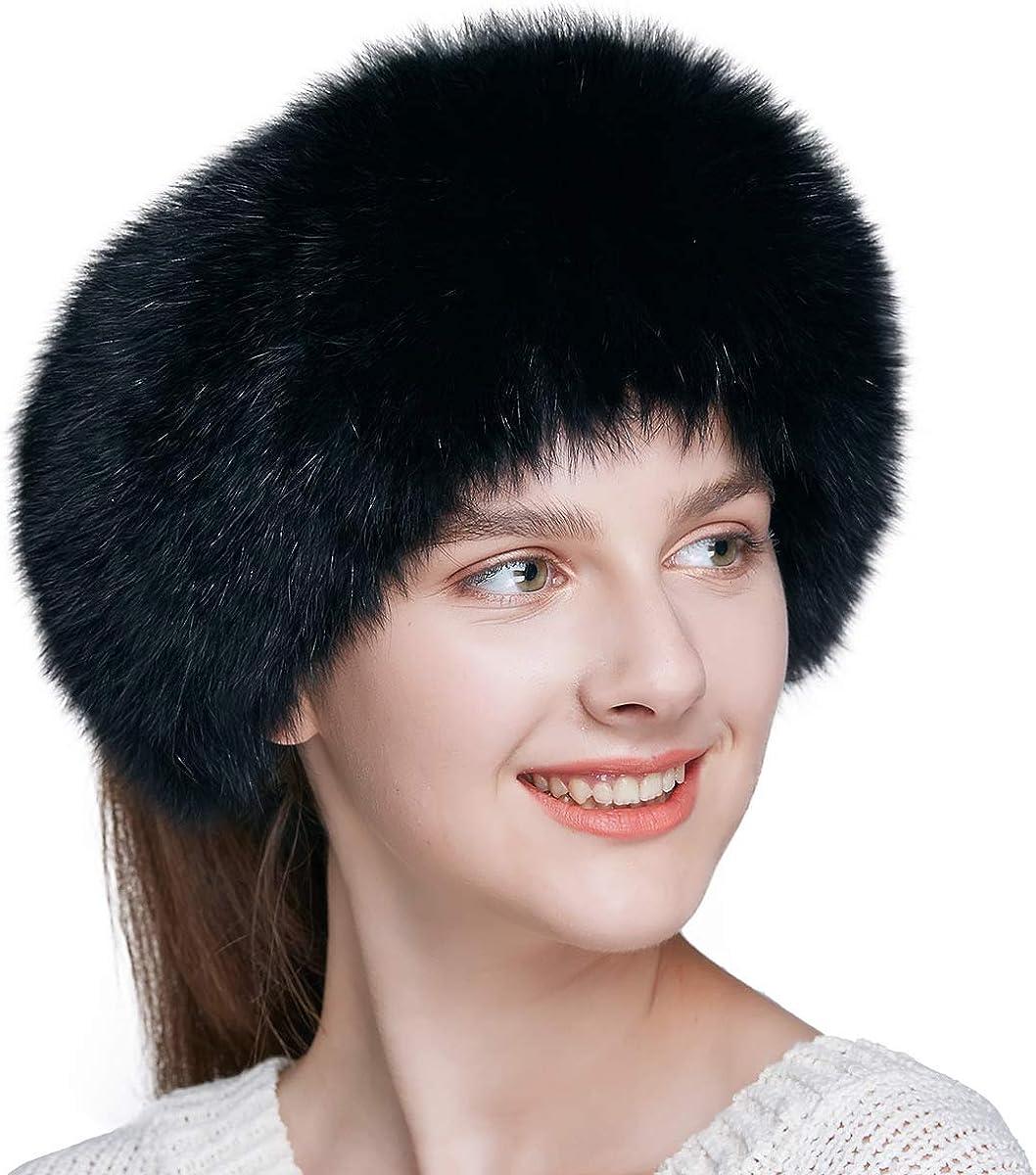 ENJOYFUR Fur HeadbandWinter...