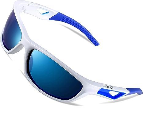 ATTCL Hombre Deportes Gafas De Sol Polarizado Uv400 Marco De ...