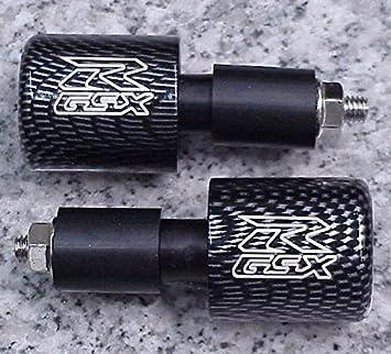 i5 1992-2018 Suzuki GSXR600 GSXR750 GSXR1000 GSXR 600 750 1000 1100 BLACK BILLET BAR ENDS