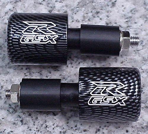 i5 1992-2019 Suzuki GSXR600 GSXR750 GSXR1000 GSXR 600 750 1000 1100 CARBON BAR ENDS i5 Motorcycle