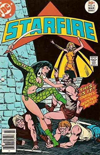 Starfire #4 VG ; DC comic (1977 Dc Comic Book)