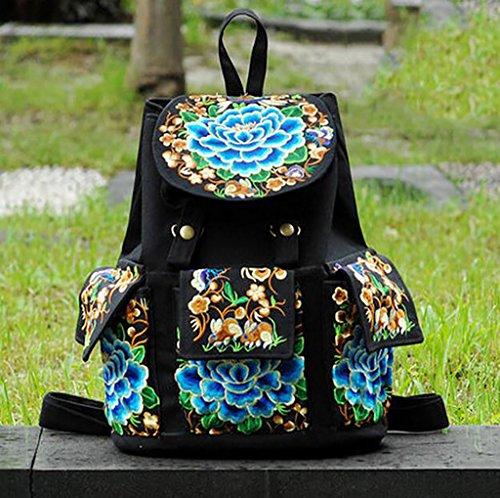 Bolsa de hombro / bordado bolsa de mano / ocio Viajes Mochila ( Color : 3# ) 5#