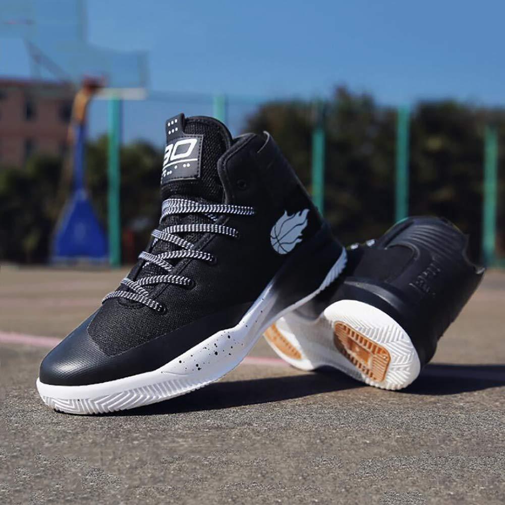 Tela Zapatillas YUL Zapatillas de deporte de baloncesto personal para hombre Tecnolog/ía de choque el/ástico alto KPU