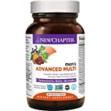 New Chapter Men's Multivitamin, Every Man, Fermented with Probiotics + Selenium + B Vitamins + Vitamin D3 + Organic Non-GMO Ingredients - 48 ct (Packaging May Vary)