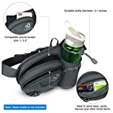 Waterfly Hiking Waist Bag Fanny Pack with Water