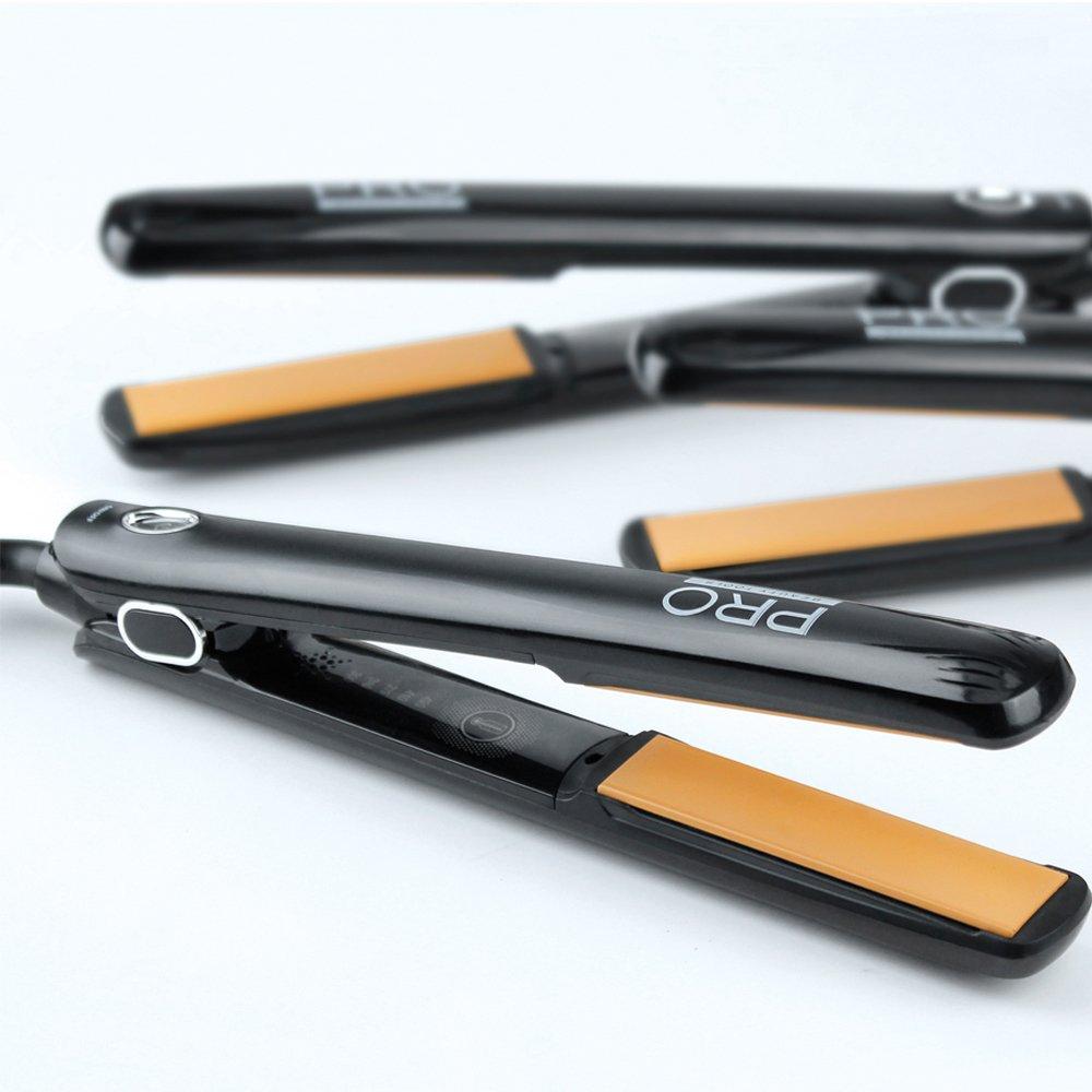 Pro Beauty Tools Shine Enhancing Professional Ceramic Flat Iron, 1