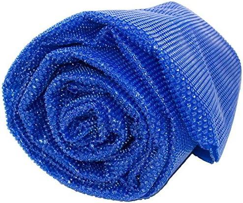 プールカバー 青いプールソーラーブランケットヘビーデューティー防水、長方形の大型プール安全カバー、屋外温水浴槽デッキ、防雨ダスト (Size : 4×5 m(13×16.4 ft))
