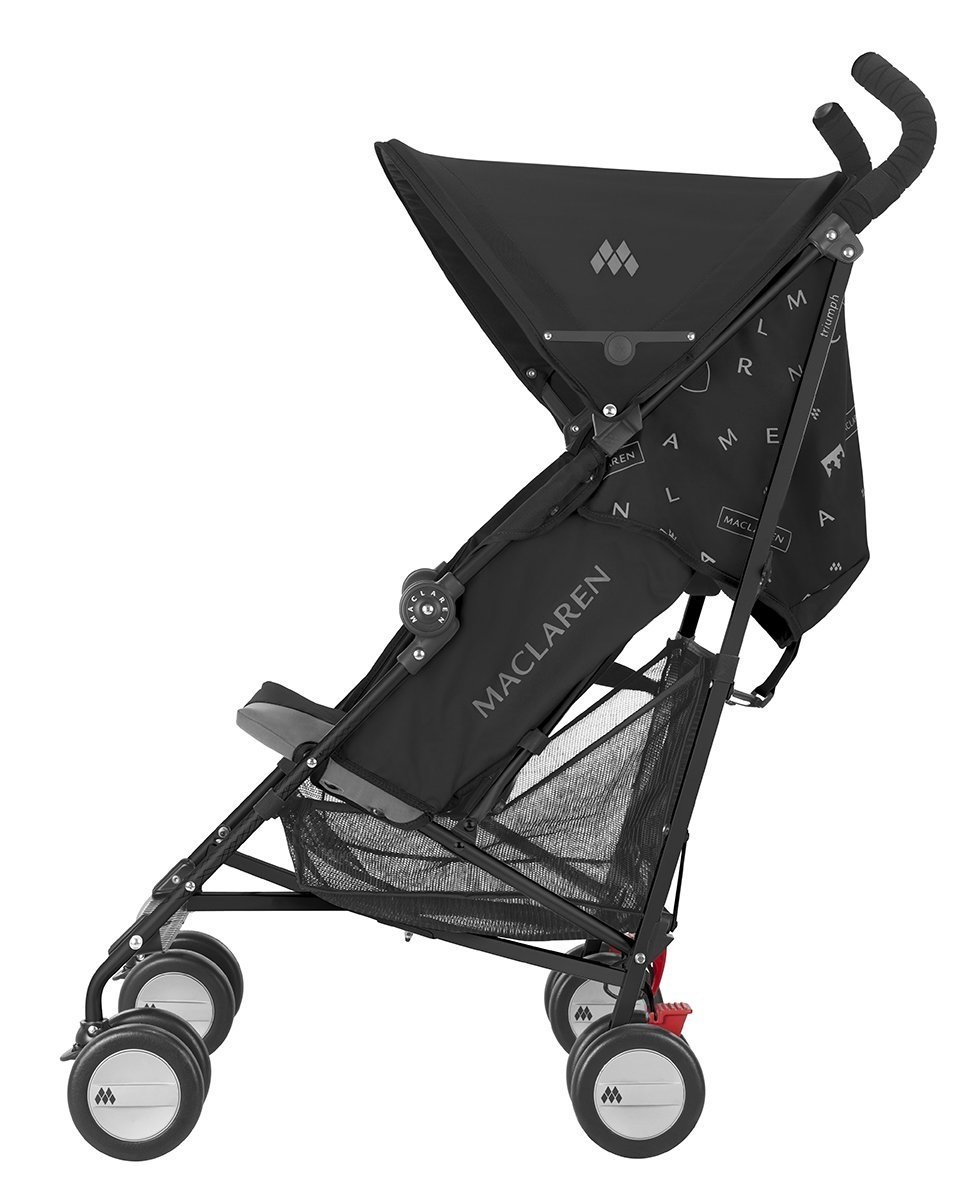 Amazon.com: carriola para Maclaren Triumph, Negro/Carbón ...