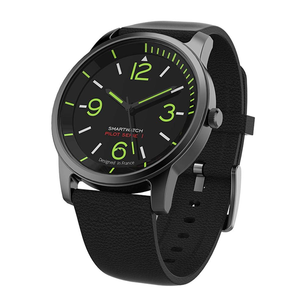 Alloet S-69 30ATM Waterproof Quartz Night Vision Bluetooth Smart Watch(Black)