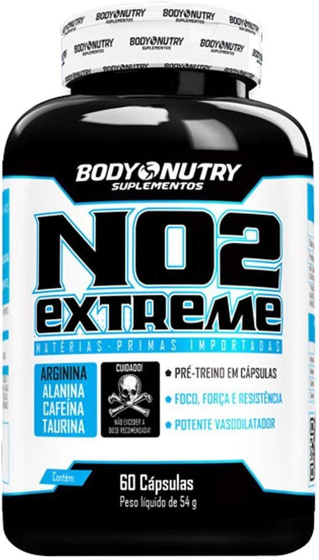 No2 Extreme - 60 Cápsulas - Body Nutry, Body Nutry por Body Nutry