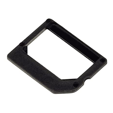 Hama 106643 - Adaptador de tarjeta SIM, color negro: Amazon ...