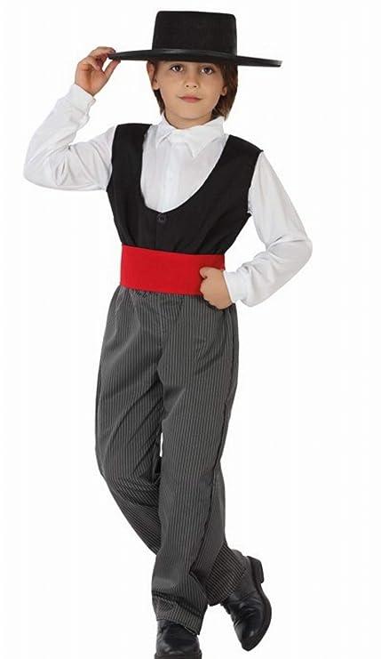Angel Tomas SA. - Disfraz cordobés infantil, talla 2, 5-6 años