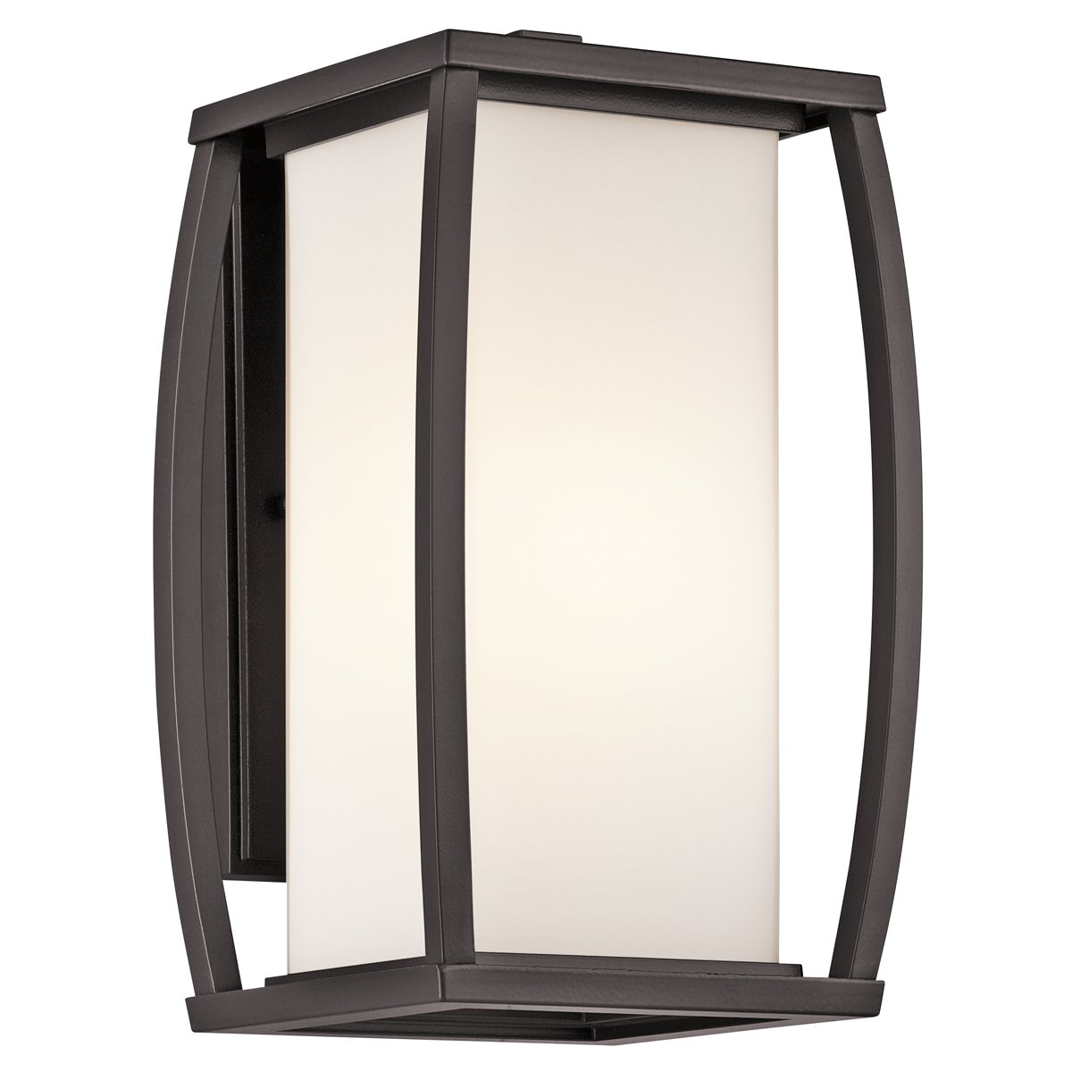 Kichler 49337AZ One Light Outdoor Wall Mount   Wall Porch Lights    Amazon.com