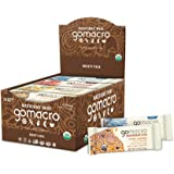 GoMacro MacroBar Mini Organic Vegan Protein Bars - Variety Pack (0.9 Ounce Bars, 24 Count)