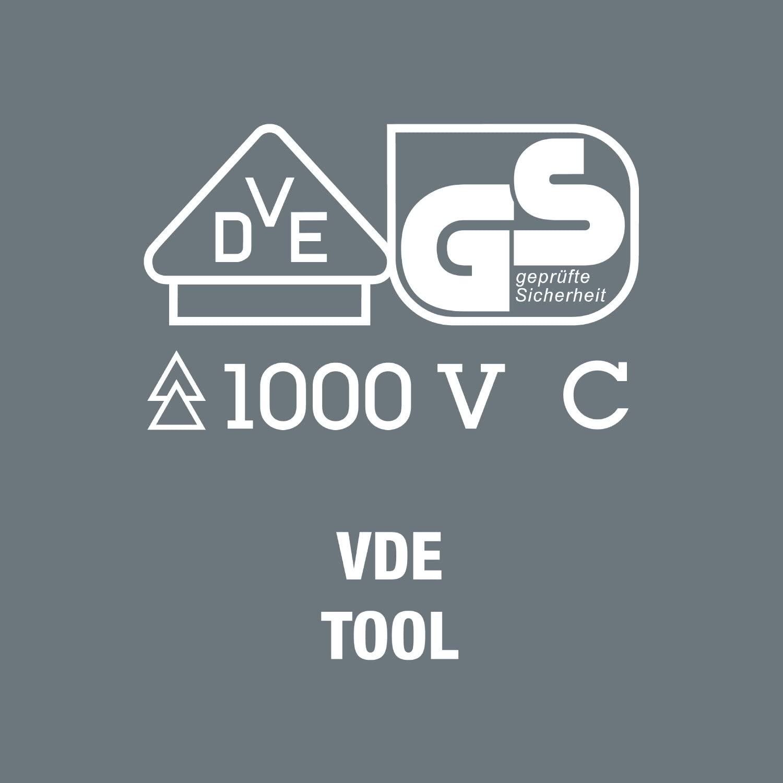 1 x 154 mm Wera 05003415001 Varilla VDE 68 i