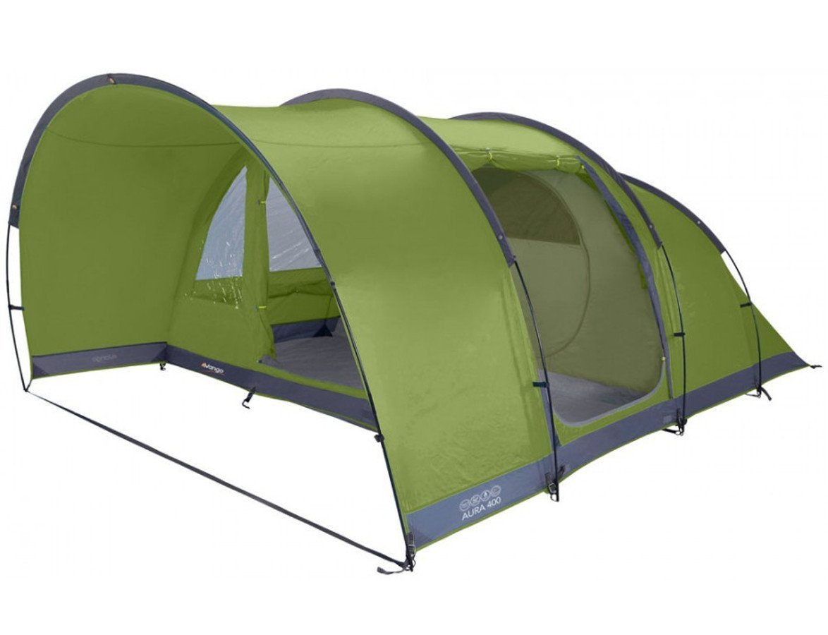 Vango Aura 400 Tent herbal 2016 Tunnelzelt