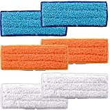 Amyehouse 6 PACKS Mopping Cloths Replacement for Irobot Braava Jet 240 241 Robot Accessories,Including 2 Each Wet Mopping Pad, Damp Sweeping Pad & Dry Sweeping Pad