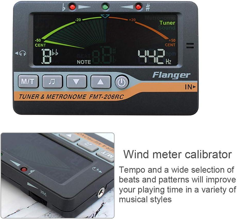 Chowceng 3-in-1 Metronome Tuner Guitar Violin Ukulele Chromatic Screen Display Digital Metronome Tone Generator