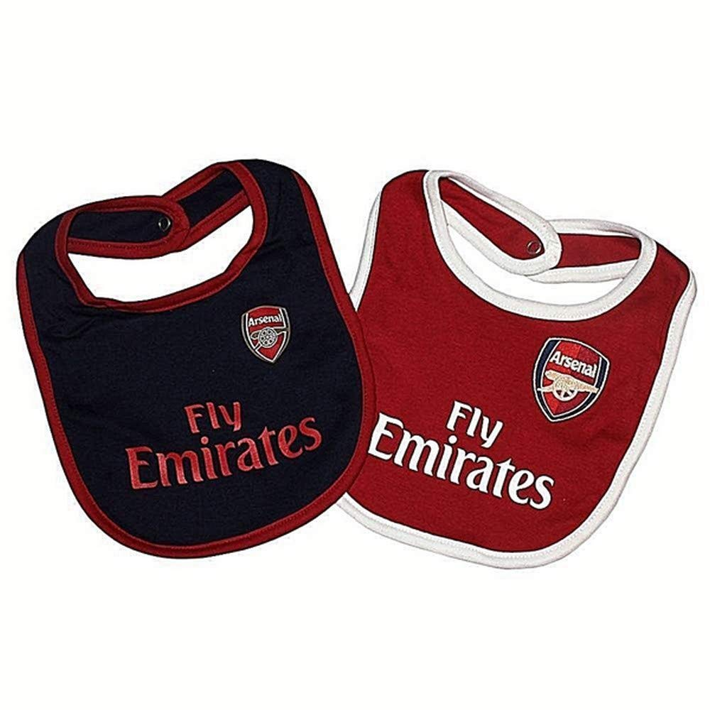 Arsenal Baby Two Pack Bib 2018/19 Arsenal FC UTSG15954_1
