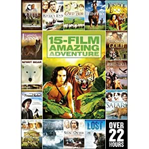 15-Movie Amazing Adventure Pack V.1