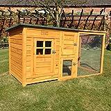 FeelGoodUK Cube Chicken Coop & Run , 160 x 75 x 80 cm